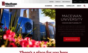 Macewan.ca thumbnail