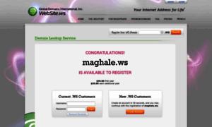 Maghale.ws thumbnail