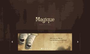 Magique.cmsmasters.net thumbnail