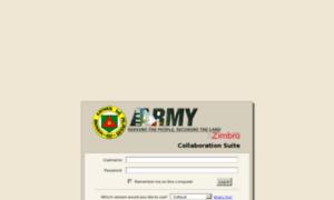 Mail1.army.mil.ph thumbnail