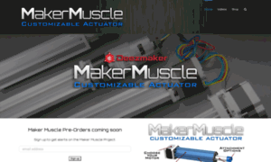 Makermuscle.com thumbnail