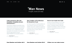 Mannews.ghost.io thumbnail
