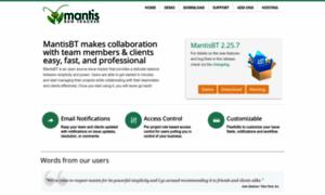 Mantisbt.org thumbnail