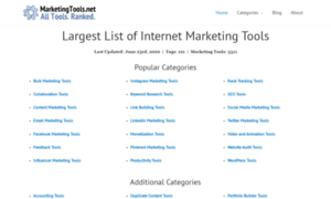 Marketingtools.net thumbnail