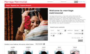 Marriage-matrimonial.in thumbnail