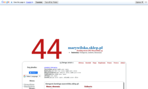 Marywilska.sklep.pl thumbnail