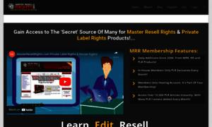 Masterresellrights.com thumbnail