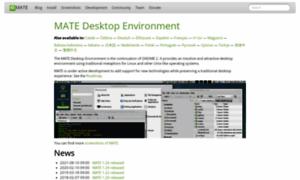Mate-desktop.org thumbnail