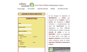 Matelezioni.info thumbnail
