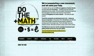 Math.350.org thumbnail