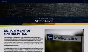 Math.uno.edu thumbnail