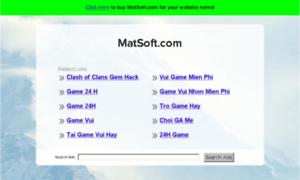Matsoft.com thumbnail