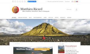 Matthieuricard.org thumbnail