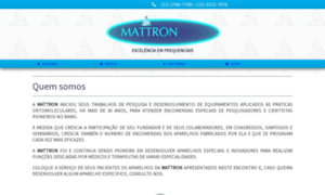 Mattron.com.br thumbnail