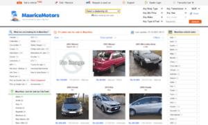 Mauricemotors.mu thumbnail