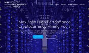 Maxhash.org thumbnail