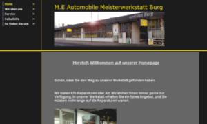 Me-automobile-burg.de thumbnail
