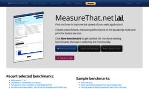 Measurethat.net thumbnail