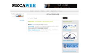 Mecaweb.info thumbnail