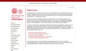 Medizinische-fakultaet-hd.uni-heidelberg.de thumbnail