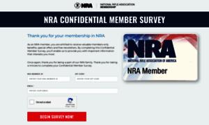 Membersurvey.nra.org thumbnail