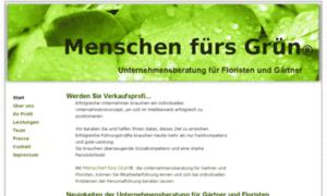 Menschen-fuers-gruen.de thumbnail
