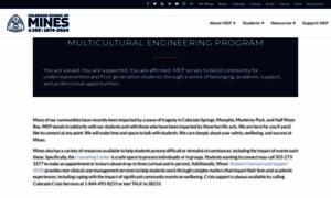 Mep.mines.edu thumbnail