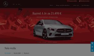 Mercedes-benz.si thumbnail