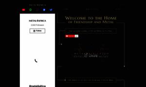 Metal4africa.com thumbnail