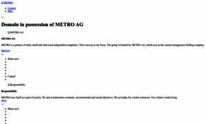 Metrogroup.de thumbnail