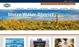 Metrowater.com thumbnail