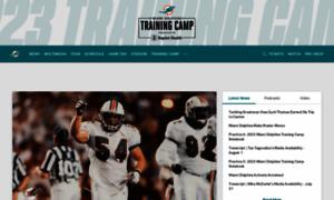Miamidolphins.com thumbnail