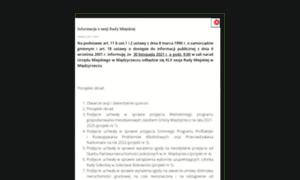 Miedzyrzecz.pl thumbnail