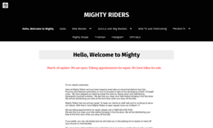 Mightyriders.ca thumbnail
