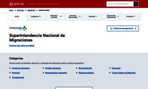 Migraciones.gob.pe thumbnail
