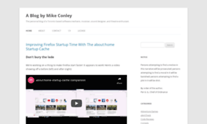 Mikeconley.ca thumbnail