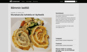 Mimminkeittio.vuodatus.net thumbnail