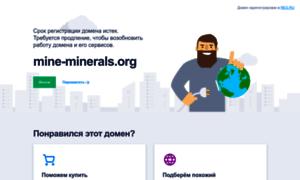 Mine-minerals.org thumbnail
