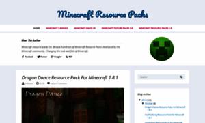 Minecraftresourcepacksaz.blogspot.fr thumbnail