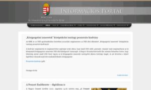 Mkk.org.hu thumbnail
