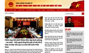 Mod.gov.vn thumbnail