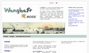 Modx.wangba.fr thumbnail