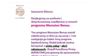 Mojmanutan.pl thumbnail