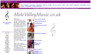 Molevalleymusic.co.uk thumbnail