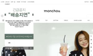 Monchou.co.kr thumbnail