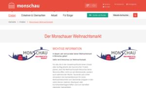 Monschau-weihnachtsmarkt.de thumbnail