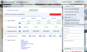 Mortgagecalculator.ca thumbnail