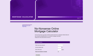 Mortgagecalculator.co.uk thumbnail