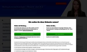 motivationsschreiben-muster.de - � Motivationsschreiben  Muster, Beispiel & Vorlage