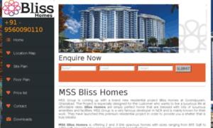 Mssblisshomes.co.in thumbnail